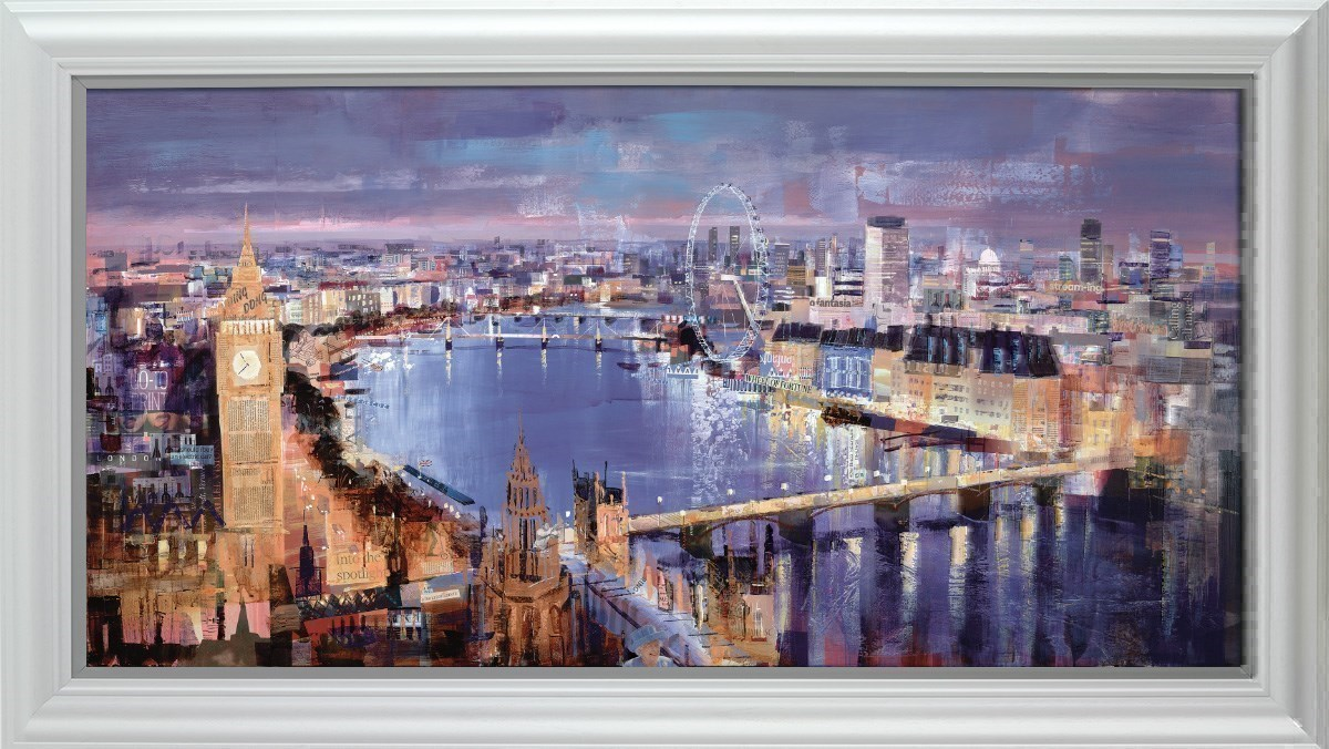 Twilight Magic by Tom Butler - Limited Edition on Paper sized 58x29 inches. Available from Whitewall Galleries